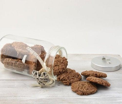 Las galletas ricas en proteínas
