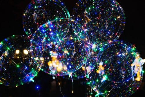 Los globos led son ideales para cualquier tipo de celebración.