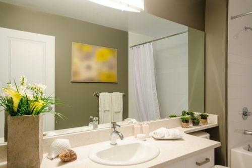 Existen diferentes maneras de modernizar el baño