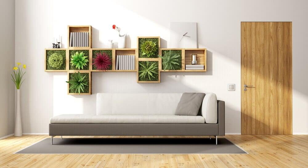 Es posible tener y cuidar un jardín interior.