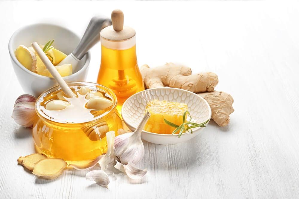 Jengibre, ajo y miel: el mejor remedio para el colesterol alto
