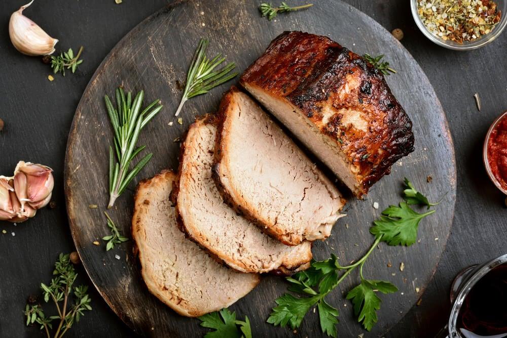Lomo de cerdo con queso azul, receta fácil y deliciosa