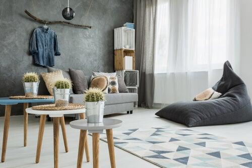 4 formas de decorar una sala con estilo minimalista