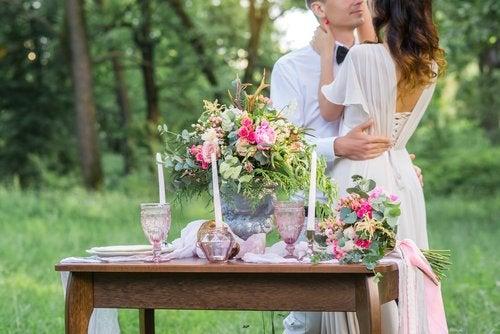 Decoraciones para bodas en tendencia
