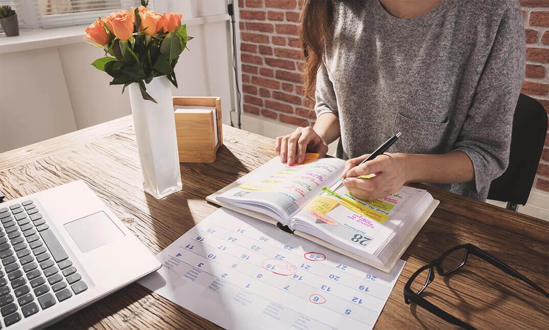 Organizarse para luchar contra el estrés