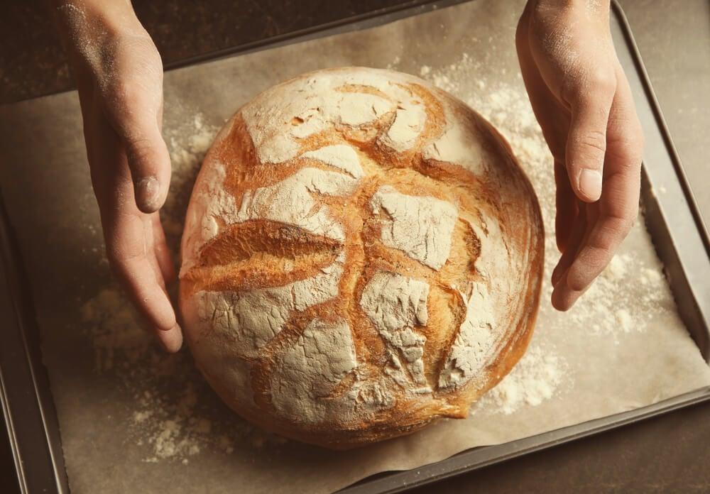 Pan proteico de calabaza