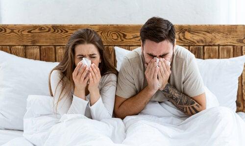 ¿Se pueden tener relaciones cuando estás resfriada?
