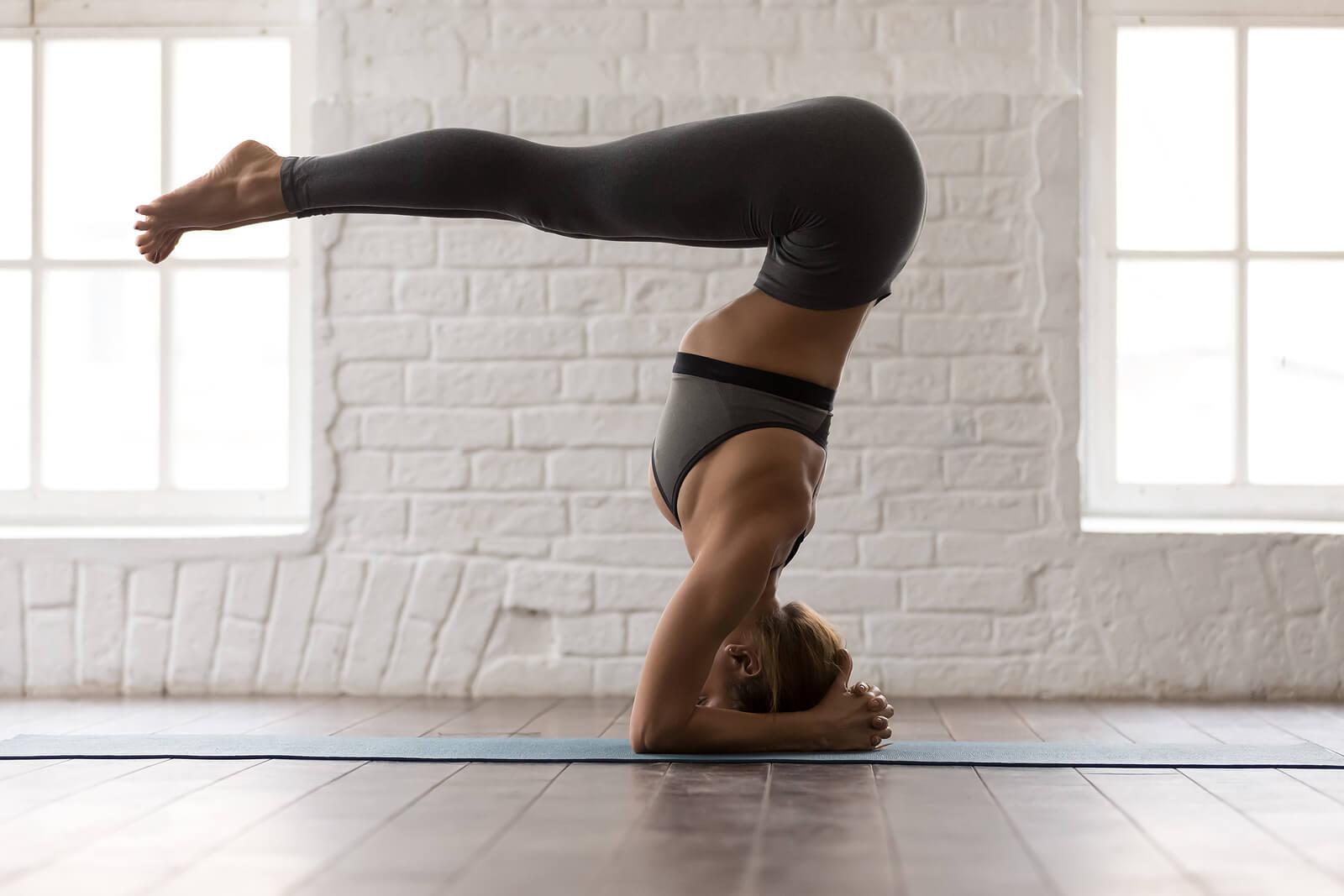 Una de las posturas de yoga más difíciles.