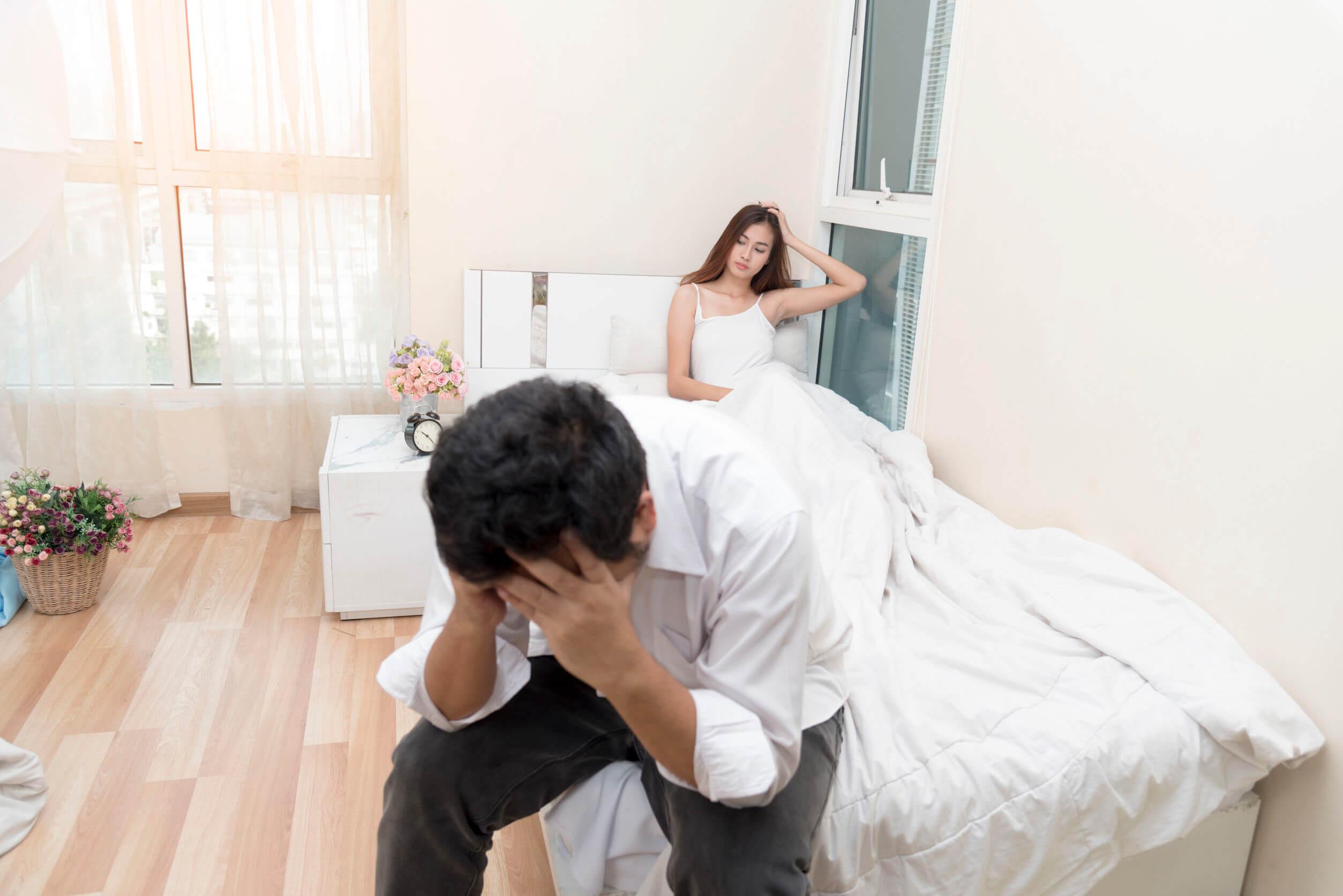 Las enfermedades de transmisión sexual pueden traer problemas de familia.