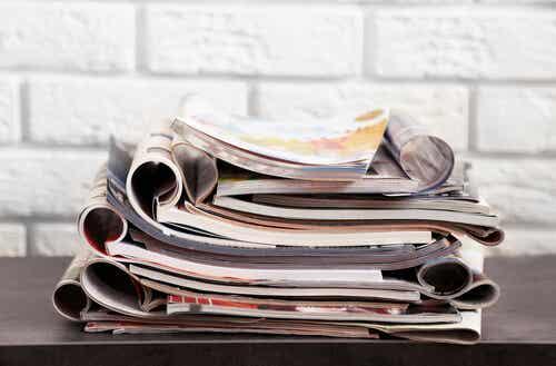 2 ingeniosas ideas para reutilizar revistas viejas