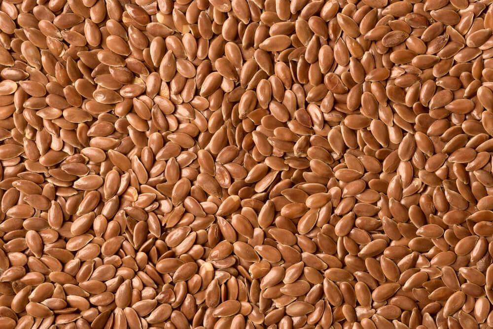 Semillas de lino.