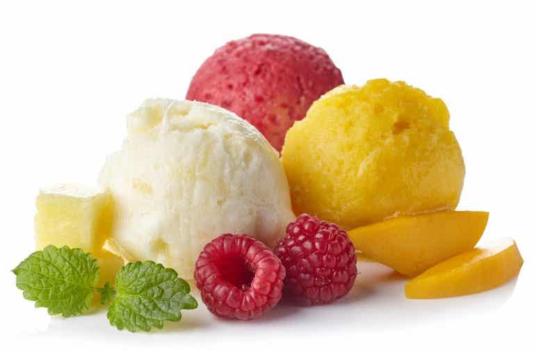 3 sorbetes de fruta para disfrutar los días de calor