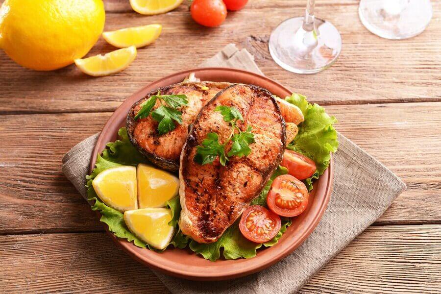 Trucha contra el colesterol