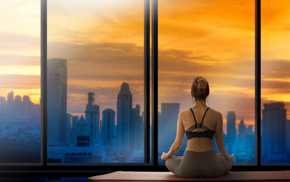 yoga por la mañana para método SAVERS