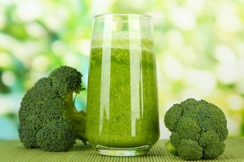 Zumo de brócoli