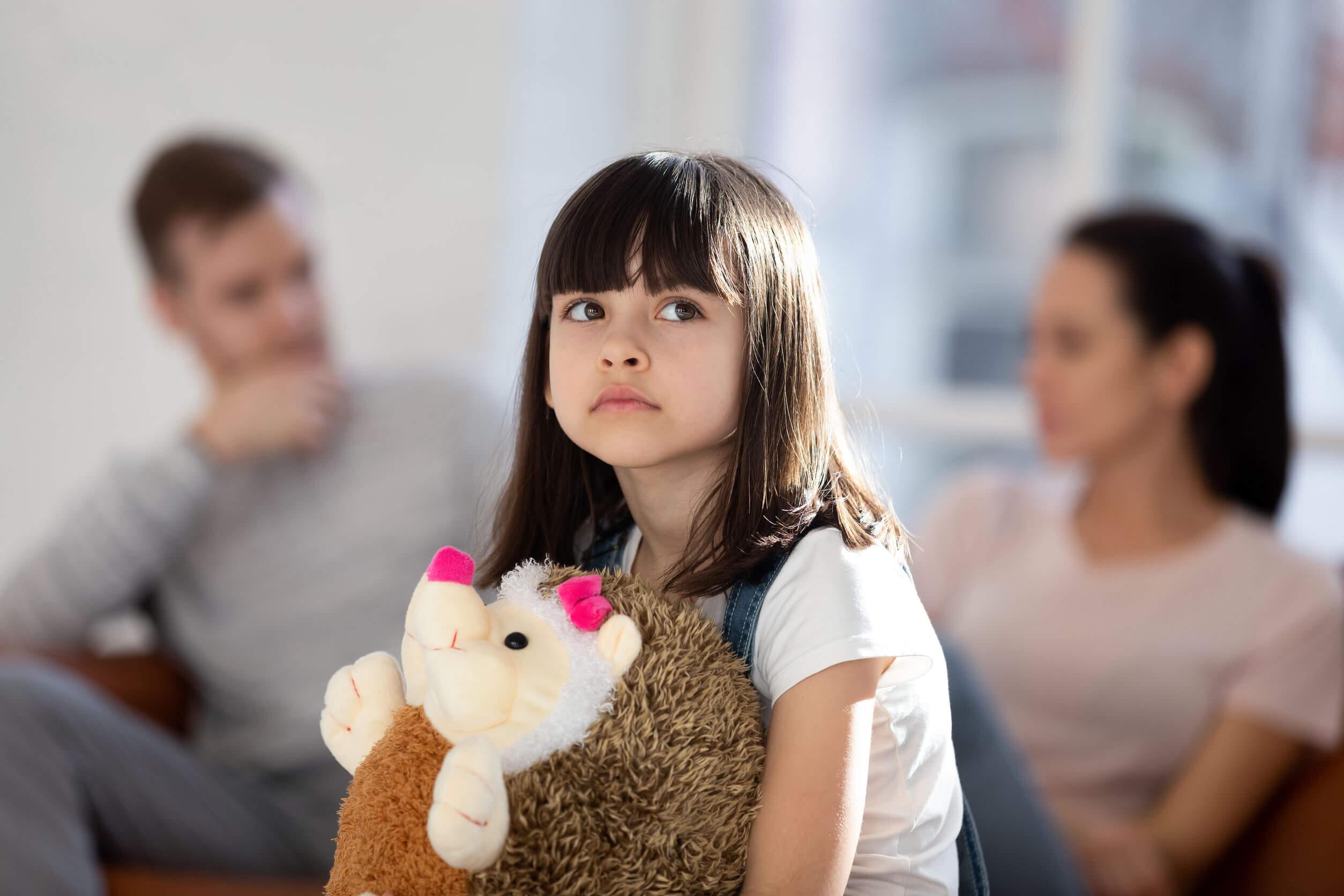 Las parejas que discuten mucho suelen tener hijos afectados.
