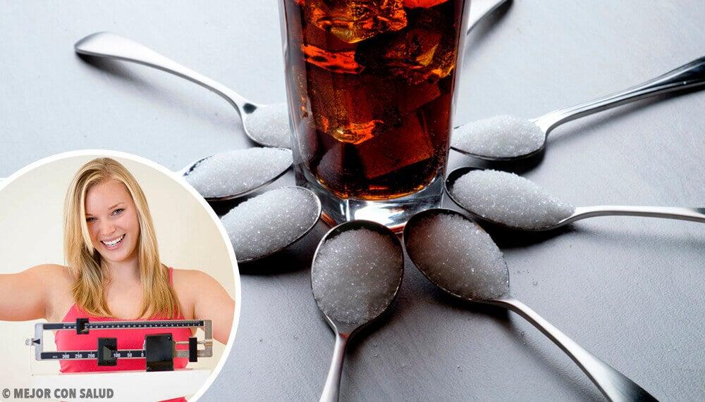 Beneficios de disminuir el consumo de azúcar para la salud