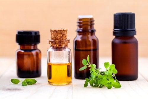 aceites esenciales para una loción natural