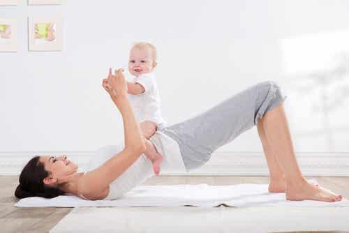 Actividad física tras el parto: con qué empezar