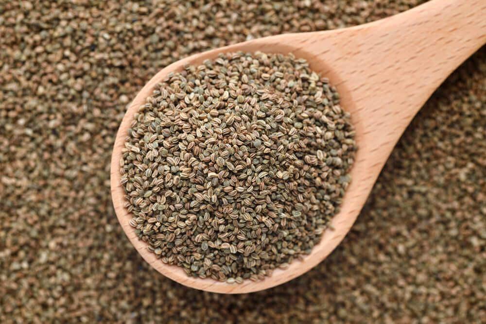 Beneficios de las semillas de apio para la salud.