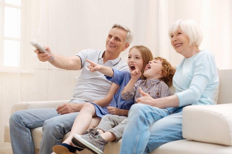 5 películas para ver con los abuelos