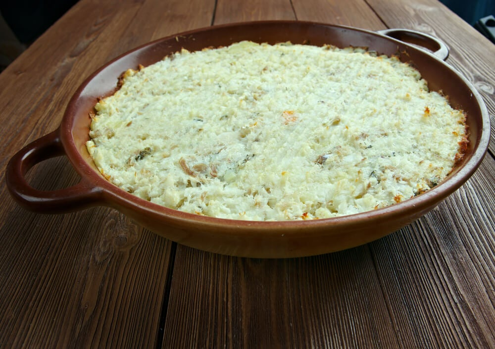 Con el bacalao se pueden preparar platos deliciosos como la lasaña de mango y brandada de bacalao.
