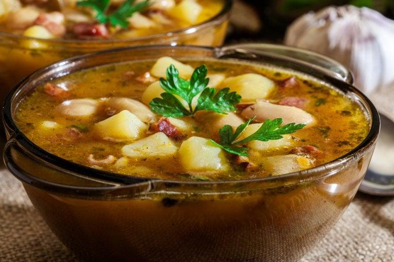 Receta del delicioso pote gallego