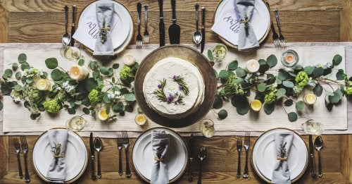 4 maneras sencillas y originales de hacer un camino de mesa