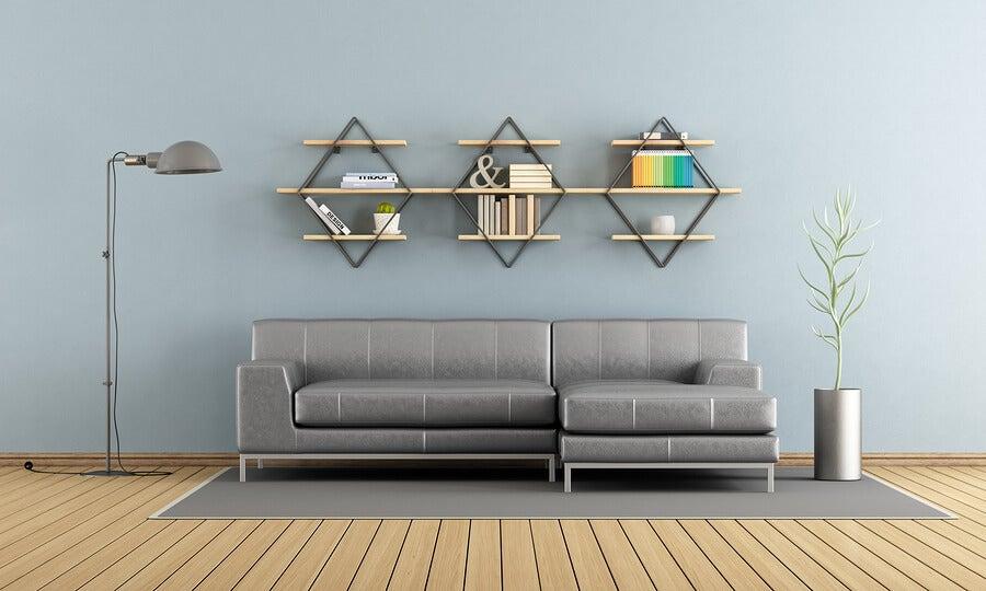 3 ideas para hacer estantes colgantes
