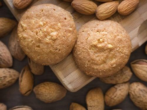 Galletas de coco y almendra: una receta saludable y rápida