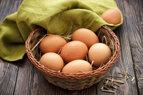 Huevos para dieta si estás embarazada.