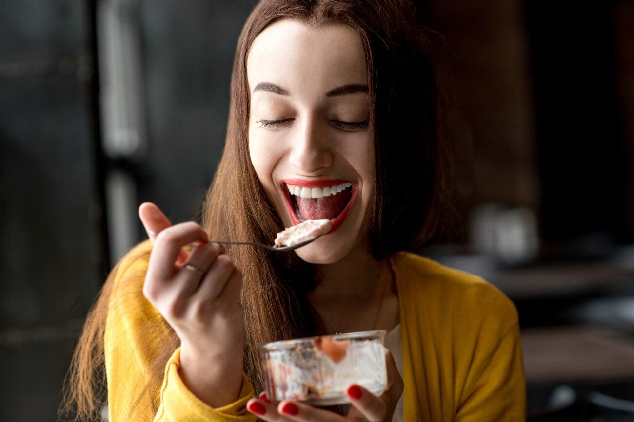 Meriendas sanas y bajas en calorias.