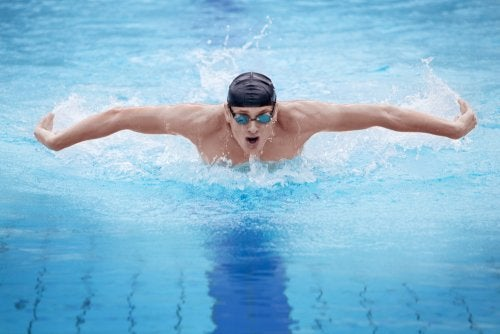 respiración correcta al nadar