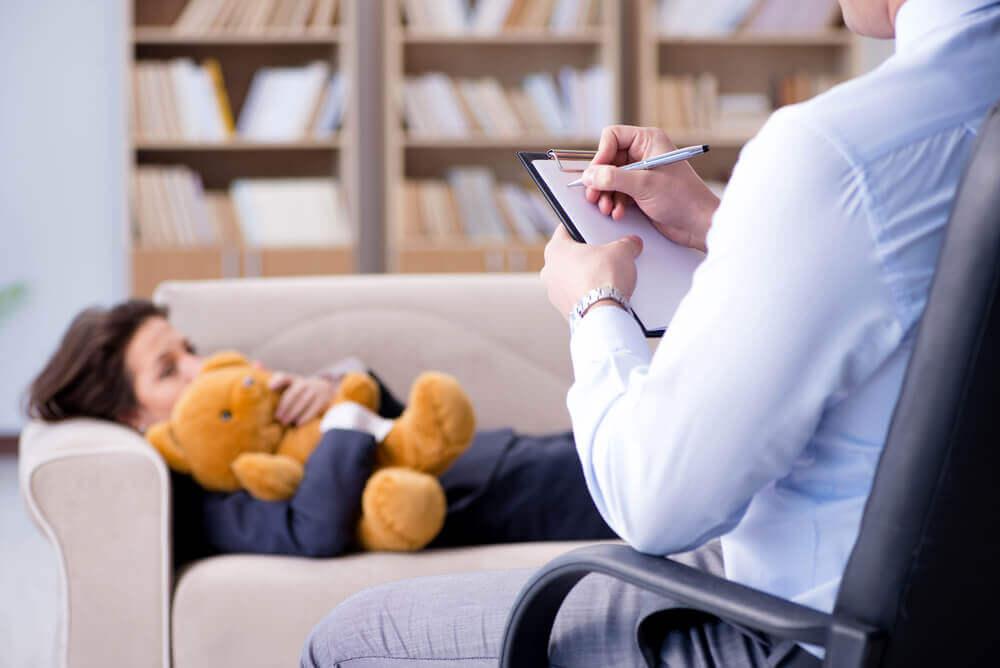 Niño en psicoterapia