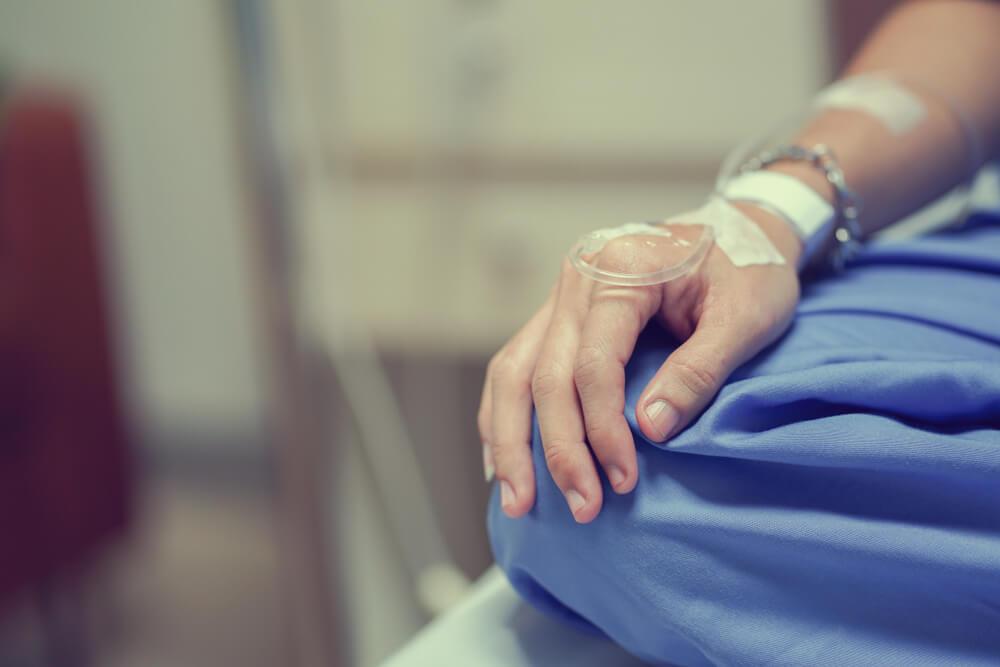 Paciente en quimioterapia
