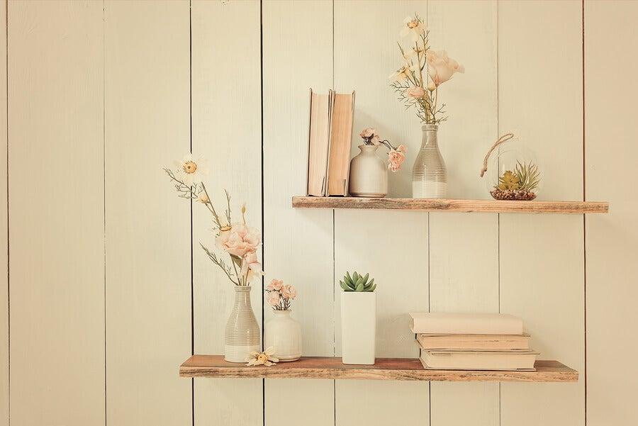 Aprende c mo hacer repisas de madera geniales mejor con - Cosas antiguas para decorar ...