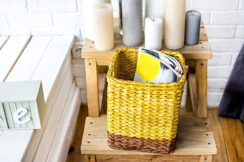 Cómo hacer revisteros con materiales reciclados