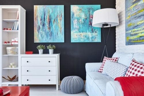 Consejos para decorar los espacios compartidos.