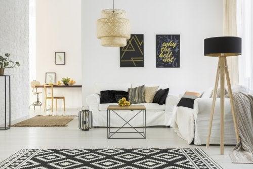 Consejos para decorar espacios compartidos.