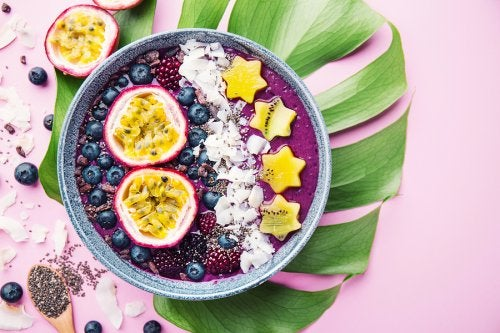 5 recetas para hacer smoothie bowls en casa