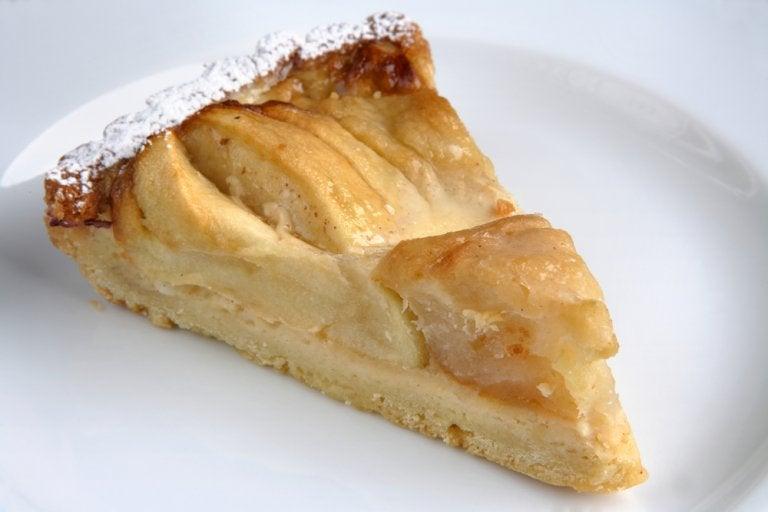 Esta es la tarta de manzana más fácil de hacer del mundo