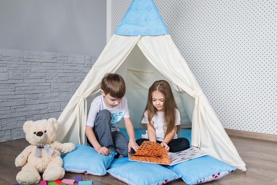 Más allá de una cortina infantil, puedes crear muchas cosas con trozos de tela