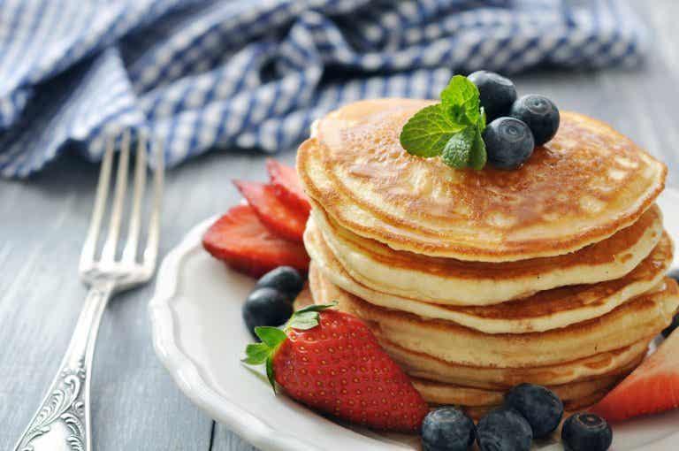 ¿Cómo hacer deliciosos panqueques sin levadura?