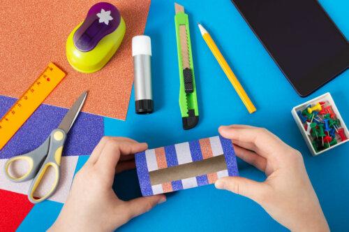 10 maneras curiosas de reciclar tubos de cartón