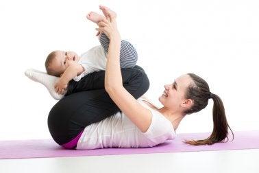 yoga para bebés