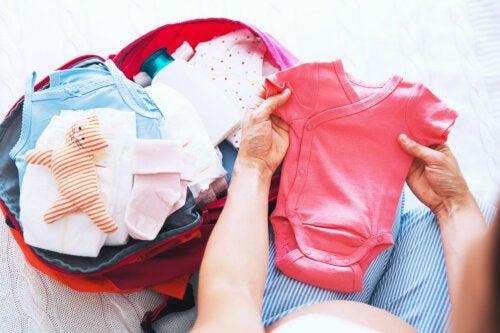 6 cosas que debes llevar en la maleta del día del parto