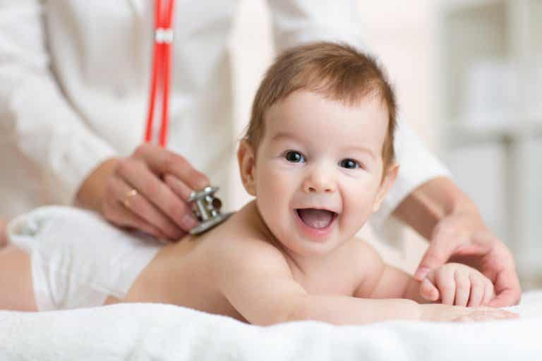 5 enfermedades comunes en los bebés