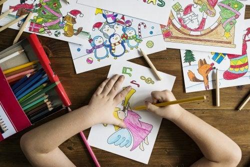 Beneficios de dibujar para los más pequeños