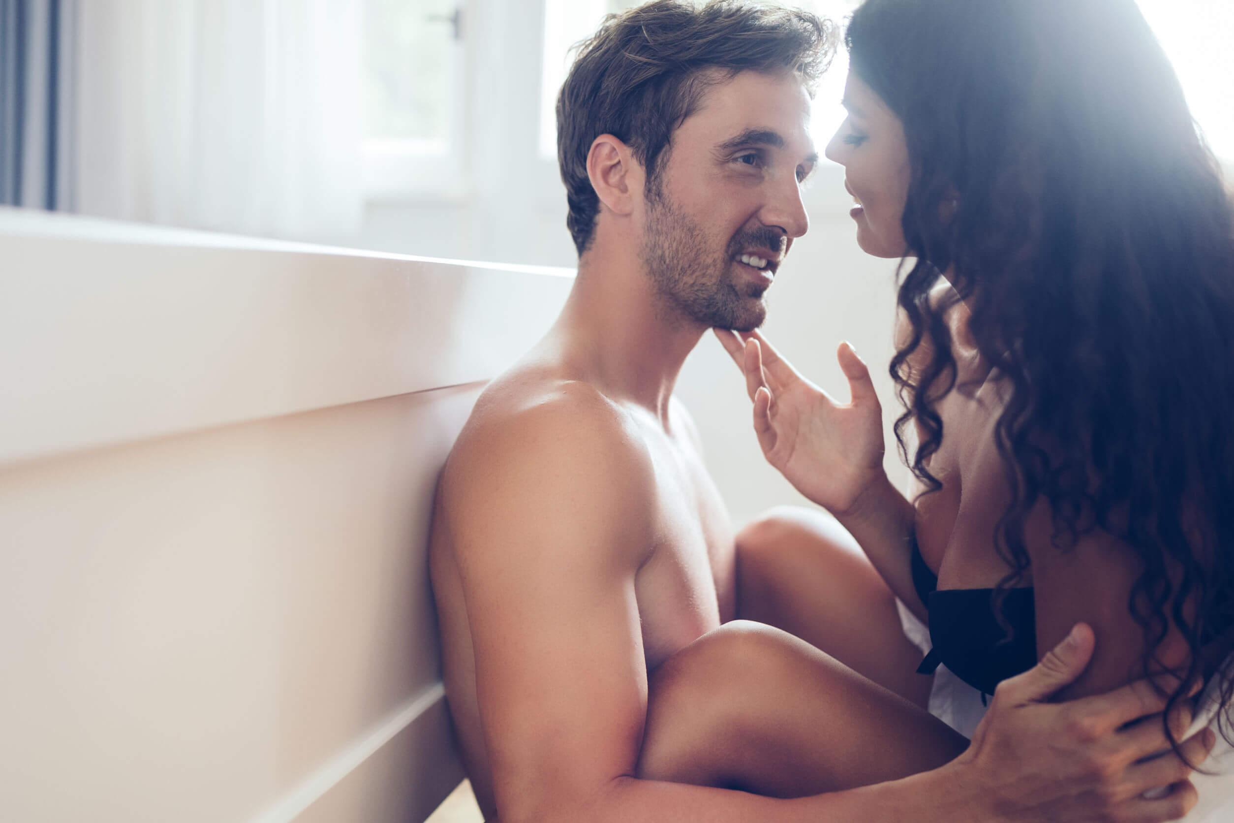 Las posturas sexuales románticas son variadas.