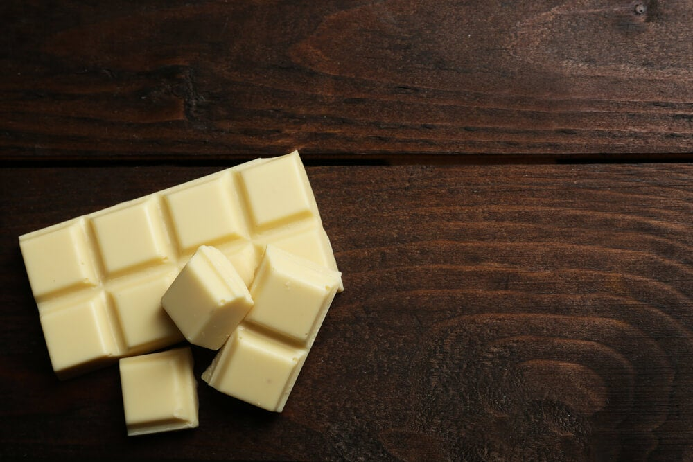 Chocolate blanco no es saludable